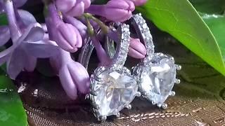 СЕРЕБРЯНЫЕ СЕРЬГИ С АЛИЭКСПРЕСС/стерлинговое серебро с алиэкспресс