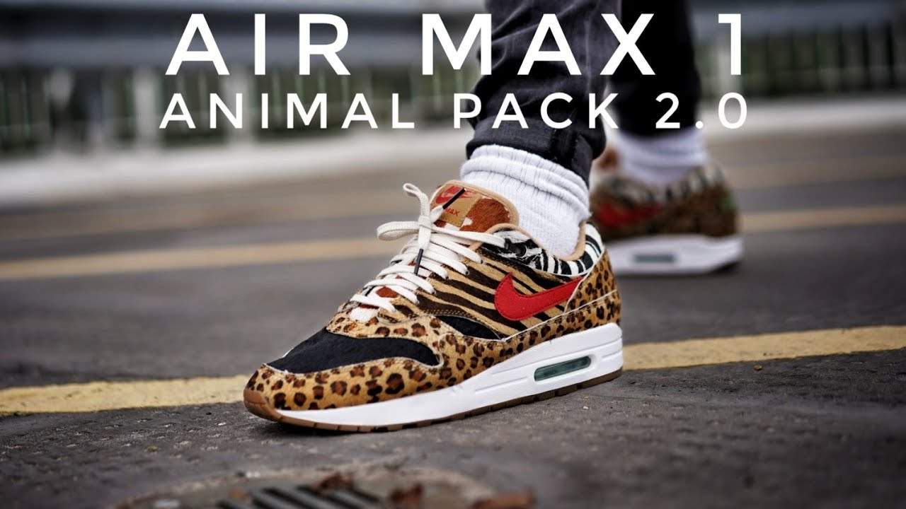 Nike Air Max Atmos Animal Pack 2.0 | Behind The Design