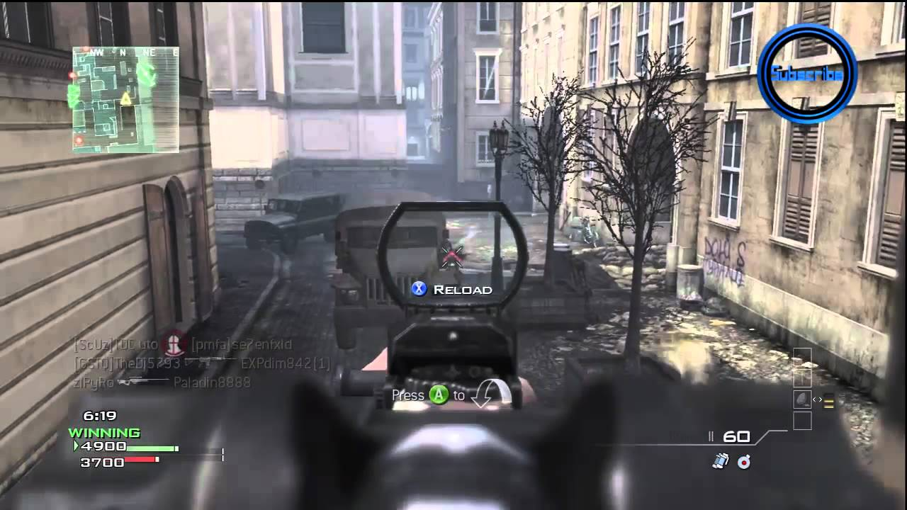 New Modern Warfare 3 Multiplayer Gameplay Call Of Duty Mw3