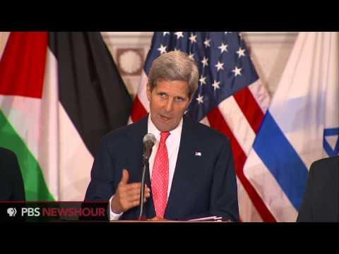 Watch John Kerry Comment On The Renewed Israel/Palestine Peace Talks