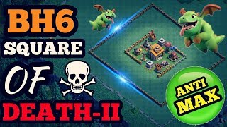 BEST BH6 BASE   BUILDER HALL 6 BASE   ANTI MAX   Clash of clans
