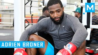 Adrien Broner Boxing Training and Conditioning Workout | Muscle Madness