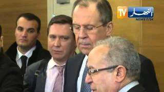 لعمامرة يضع وزير الخارجية الروسي و مترجمه في مأزق !!