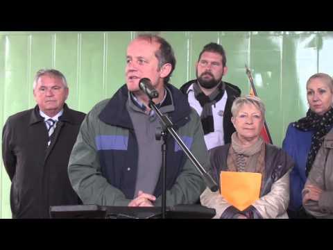 Inauguration du Jardin Biologique du Domaine de Fabregas samedi 29 novembre 2014