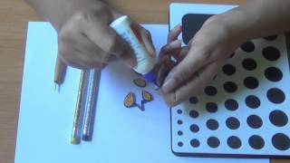 How To Make Paper Quilling 3D Art Pencil Top