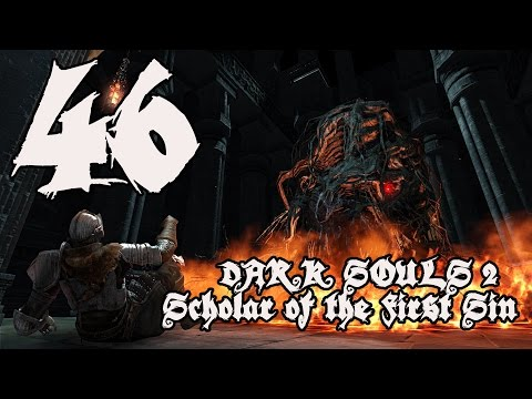 Dark Souls 2 Scholar of the First Sin - Walkthrough Part 46: Dark Clutch and Arena