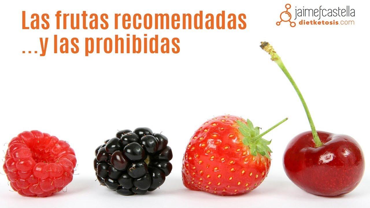 frutas y verduras permitidas en la dieta keto
