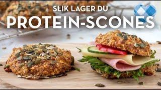 Protein-scones med cottage cheese. Lag stor porsjon og meal prep uka   TINE Kjøkken