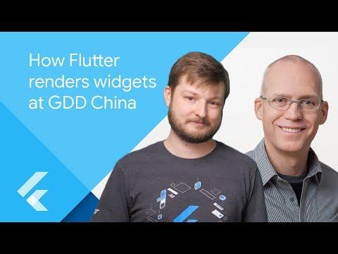 How Flutter renders Widgets