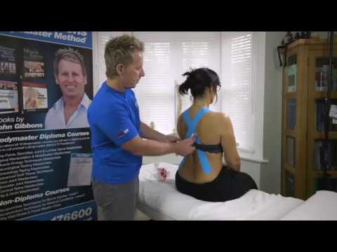 Try This Kinesiology Taping Technique For Poor Posture - Its Incredible
