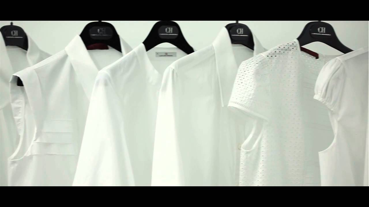 CH White Shirt Collection ok - YouTube