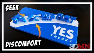 3D Printed Anamorphic Text - Fusion 360 Tutorial