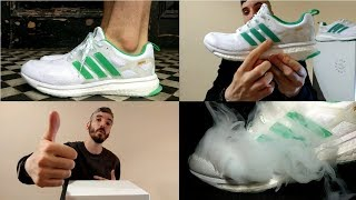 "ADIDAS X  CONCEPTS ""SHIATSU"" ENERGY BOOST unboxin, on feet, comfort, weight & breath-ability review!"