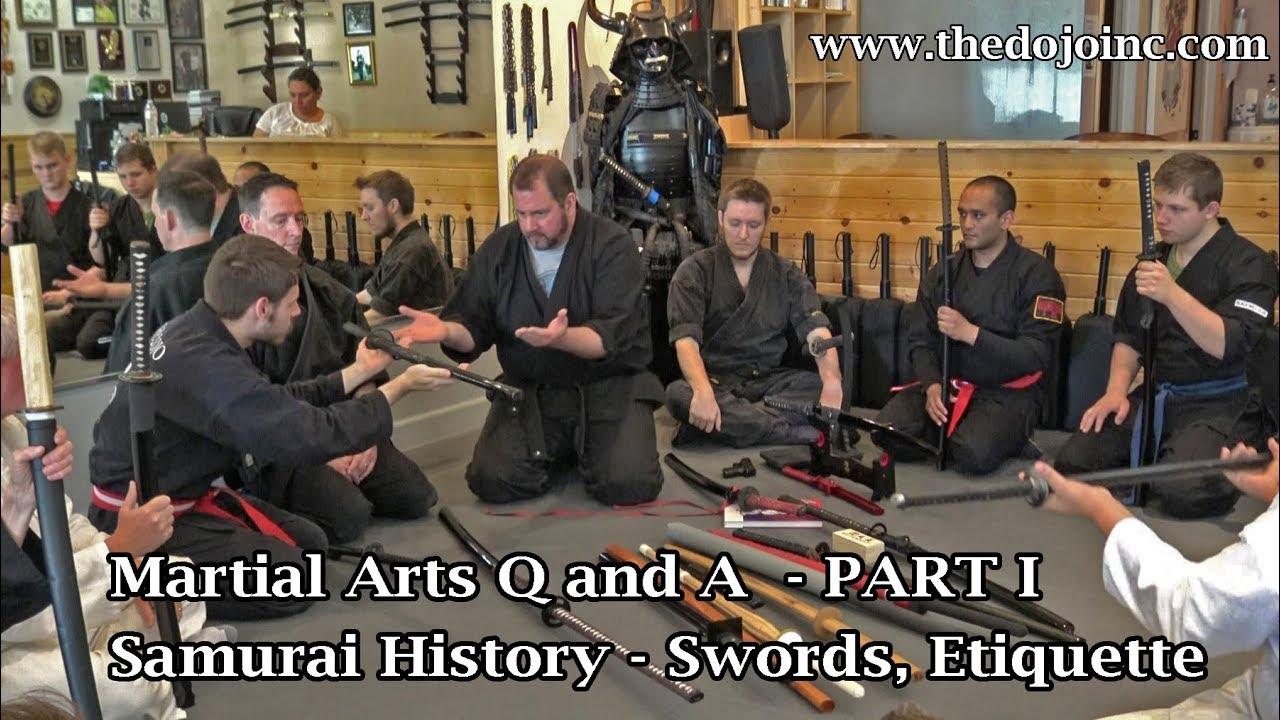 Samurai Sword Etiquette - Martial Arts History Q and A Part I