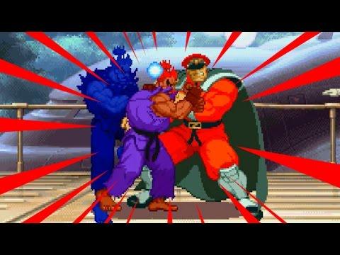 Super-Akuma Playthrough - STREET FIGHTER ALPHA2 DASH(SEGA SATURN)