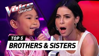 Download TALENTED SIBLINGS sing together in The Voice Kids