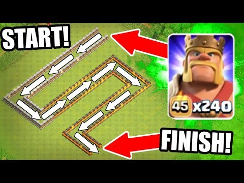 THE BARBARIAN TRAIN vs CERTAIN DEATH!! - Clash Of Clans - EPIC MASS TROOP CHALLENGE!!