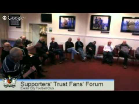 Exeter City Supporters' Trust Fans' Forum