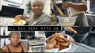 ALL DAY COOKING AND CLEAN FOR MY KIDS, And EAT WITH US