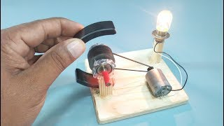 Free Energy Flywheel Generator Motor With Magnets DIY Science Project New Technology Exhibition