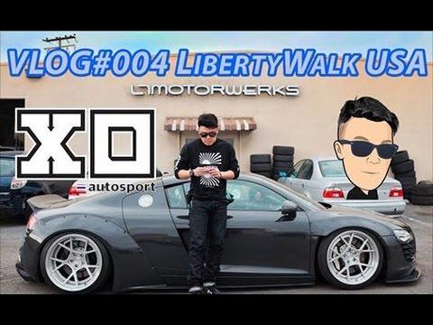 VLOG#004 พาไปบุกอู่รถซิ่งที่ปังที่สุดในยุคนี้ LTMW LibertyWalk USA - A Day with Goody