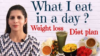 What I eat in a day | Weight Loss Diet Plan For Summers | Intermittent Fasting Diet Plan to Lose Fat