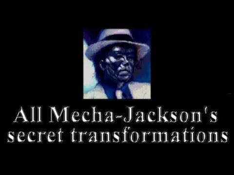 All Mecha-Jackson's Secret Transformations - Moonwalker (SEGA Genesis)