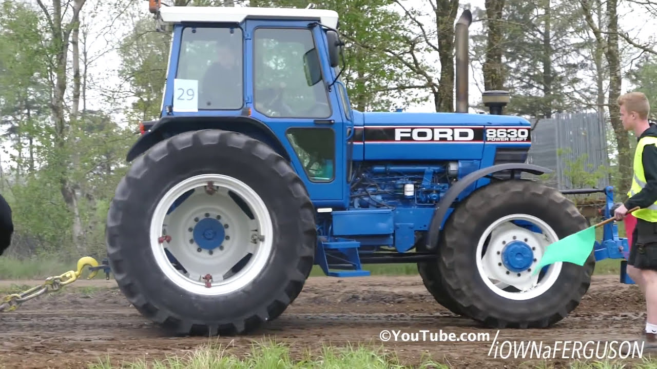 Ford 8630 Power Shift Pulling The Sledge At Pulling Event In Grindsted |  Tractor Pulling Denmark  Iownaferguson 03:20 HD