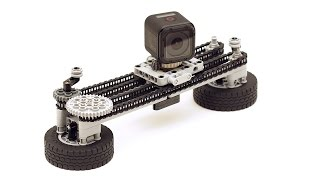 Lego Technic GoPro HERO Session Camera Dolly and Panning Rig