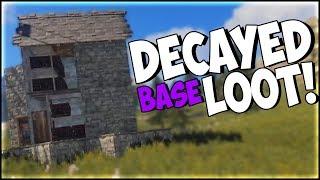 INSANE LOOT AFTER BASE DECAYS! (RUST SOLO SURVIVAL PART 63)