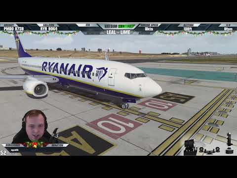 [P3D V4.4] ✈ NEW Alicante Scenery! ✈ | Ryanair Boeing 737-800 At LEAL