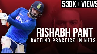Download Rishab Pant | Batting Practice in Nets | Mp3 and Videos