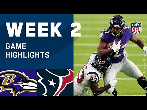 Ravens vs. Texans Week 2 Highlights | NFL 2020