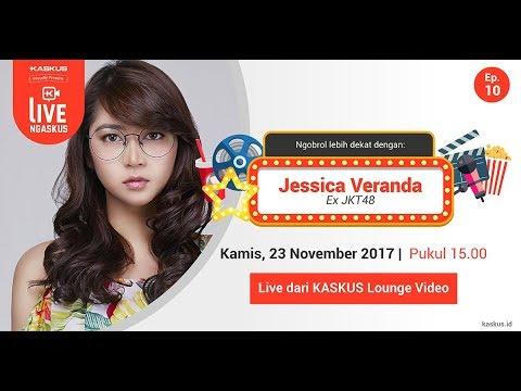 LIVE Ngaskus Bareng Jessica Veranda, Ex JKT 48