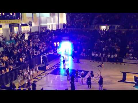 Player Introductions @ Marquette Madness 2011