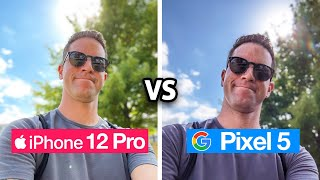 iPhone 12 Pro vs Pixel 5: Camera Test Comparison!