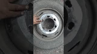 Газель. Замена шпилек заднего колеса. Своими руками.