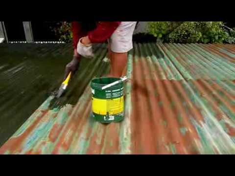 Roof Metal Primer Painting 9 11 13 Youtube