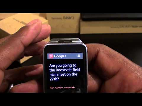 Samsung Galaxy Gear 2 Unboxing and First Impressions