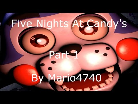 CAT SCRATCH FEVER!!!!! (Five Nights At Candy's Part 1)