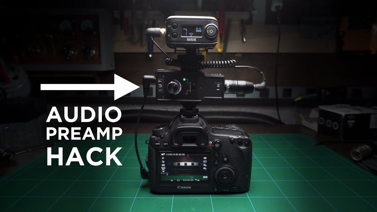 A Cheap Mod To Drastically Improve DSLR Audio