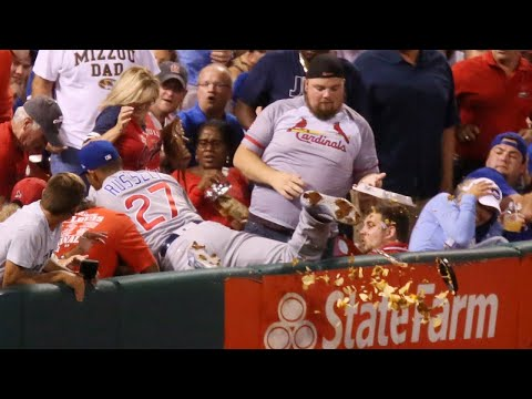 Meet 'Nacho Man,' Whose Salty Snack Spilled All Over Cardinals Field