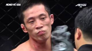 ROAD FC 026 Featherweight Match Hong Young-ki(홍영기) VS He NanNan(허난난)