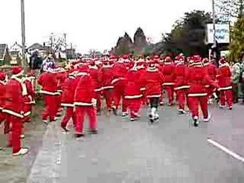 Pembrokeshire Santa Claus Race
