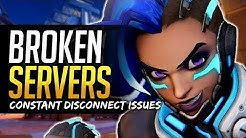 Overwatch SERVER PROBLEMS - Constant Disconnect and SR Loss