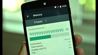 Как сделать бесконечную память на смартфоне?