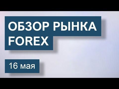 16 Мая. Обзор рынка Форекс EUR/USD, GBP/USD, USD/JPY, BRENT