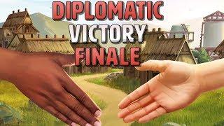 [16] Civilization 6 Diplomatic Victory Finale - Civ 6 Gathering Storm