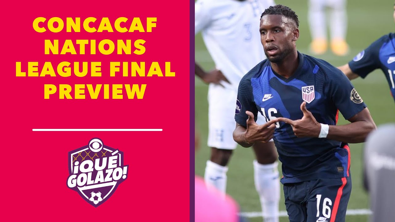 Concacaf Nations League Final: USA vs. Mexico - Lineup, Schedule ...