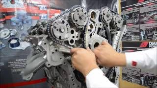 Motor Chevrolet 3.6L Distribución/Chevrolet 3.6L Engine Distribution